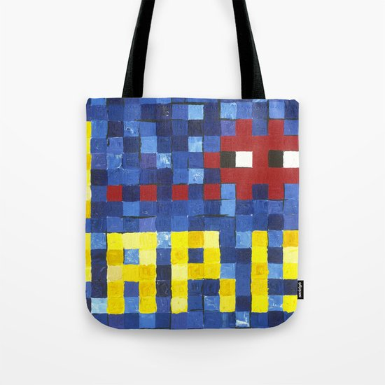 I Space Invader Paris Tote Bag