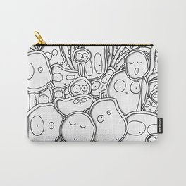 Many Monsters Carry-All Pouch