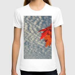 Evening Sky in The Fall by Teresa Thompson T-shirt