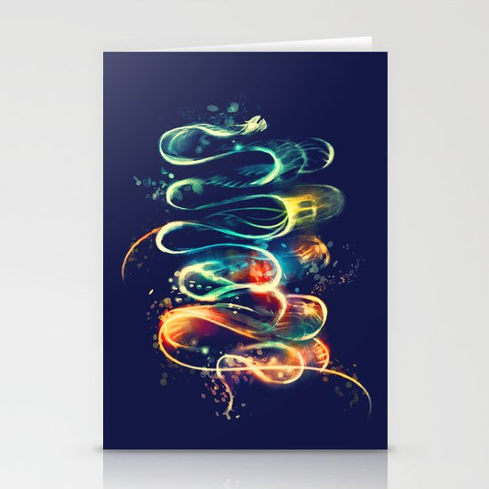 Leptocephalus Stationery Cards