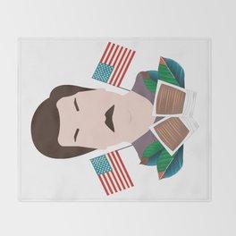 Ron Swanson Throw Blanket