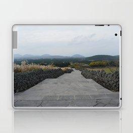 Beautiful Scenary at Jeju Sangumburi Laptop & iPad Skin