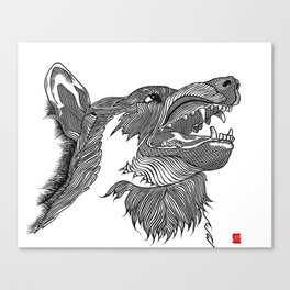 THE WOLVES THEY'VE MADE US Canvas Print