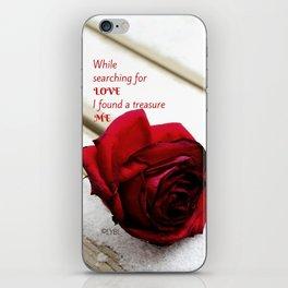Love Yourself  Merry Christmas Edition Treasure 01 iPhone Skin