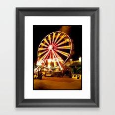 Giant Wheel Framed Art Print