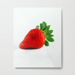 Strawberry's are Kinda Good Metal Print