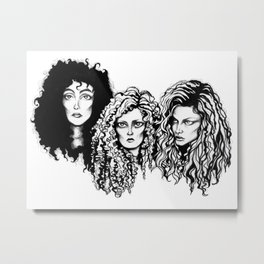 Eastwick  Witches Metal Print