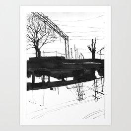 Railway I Art Print