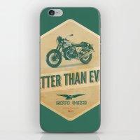 moto iPhone & iPod Skins featuring moto guzzi by Liviu Antonescu