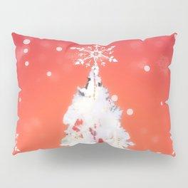 Three White Christmas Trees | Nadia Bonello Pillow Sham