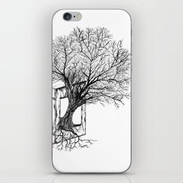 Replacing Nature with Knowledge iPhone Skin