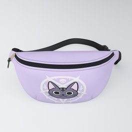 Black Meowgic 02 Fanny Pack