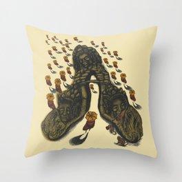 Cambodia on my mind Throw Pillow
