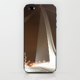 Samuel Beckett Bridge, Dublin iPhone Skin