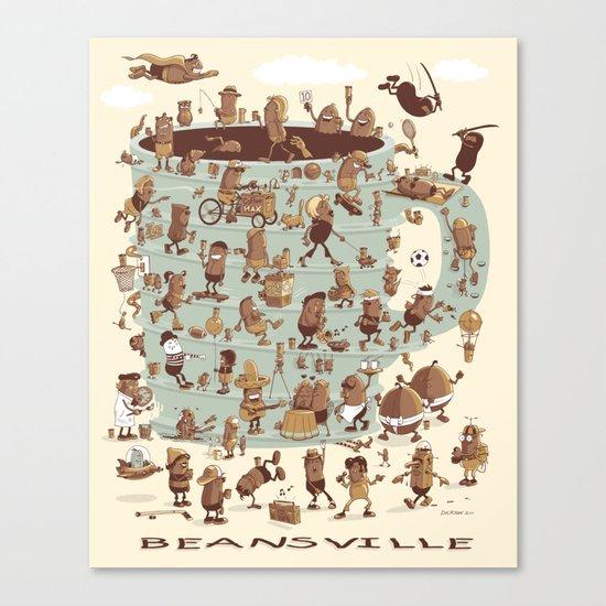 Beansville Canvas Print