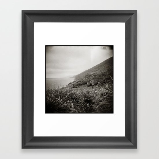 { the earth we walk on } Framed Art Print