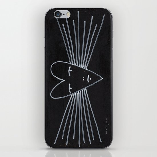 radiant heart iPhone & iPod Skin