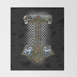 Tribute to Thor Throw Blanket