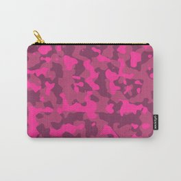 Strawberry Camouflage Carry-All Pouch