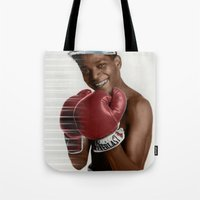 basquiat Tote Bags featuring Basquiat * by zombielombii