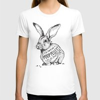 poop T-shirts featuring Poop Rabbit by Nat Osorio