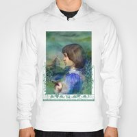 alice Hoodies featuring Alice by Iris V.