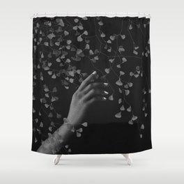 Noir touch Shower Curtain
