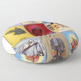 La Lotería de Frida Floor Pillow