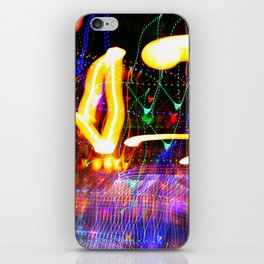 Love Moves Fast iPhone Skin