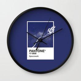 Pantone Series – Spacewalk Wall Clock