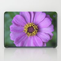 rileigh smirl iPad Cases featuring Purple Flower by Rileigh Smirl