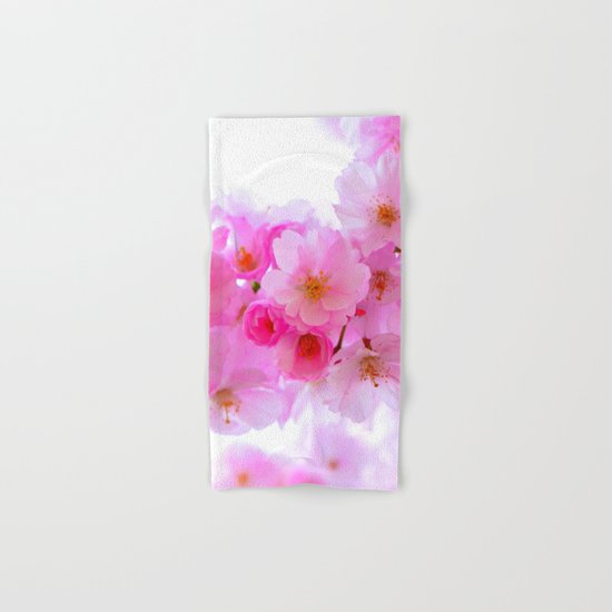 cherry tree blossom Hand & Bath Towel