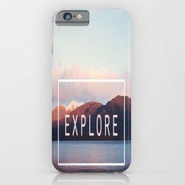 Explore. New Zealand iPhone Case