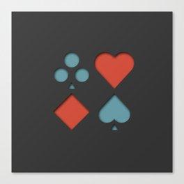 Gambler Canvas Print