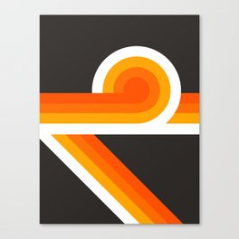 Flame Looper Canvas Print