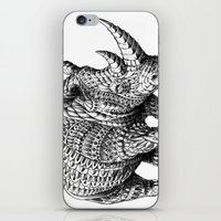 bioworkz iPhone & iPod Skins featuring Rhinoceros by BIOWORKZ