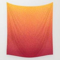 taurus Wall Tapestries featuring STARDUST / taurus by DANIEL COULMANN