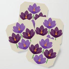 Crocus Flower Coaster
