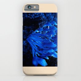 Blue Moon Mushrooms  iPhone Case