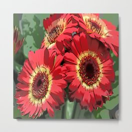 Floral Dreams Metal Print