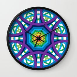 Circles to Oblivion in Reverse Wall Clock