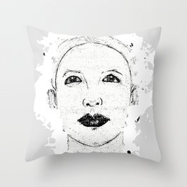 Hopeful Look Into The Future Throw Pillow