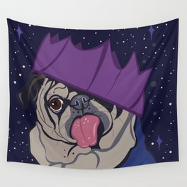 Josie The Pug Wall Tapestry