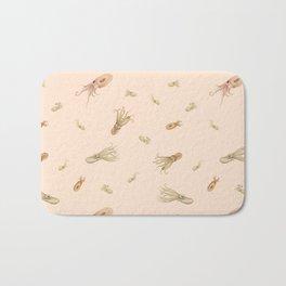 Cephalopods on Blush 1 Bath Mat
