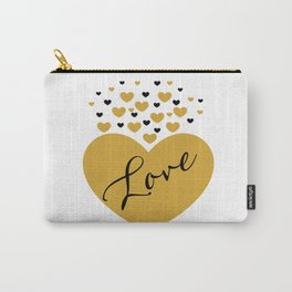 Love is Gold Carry-All Pouch