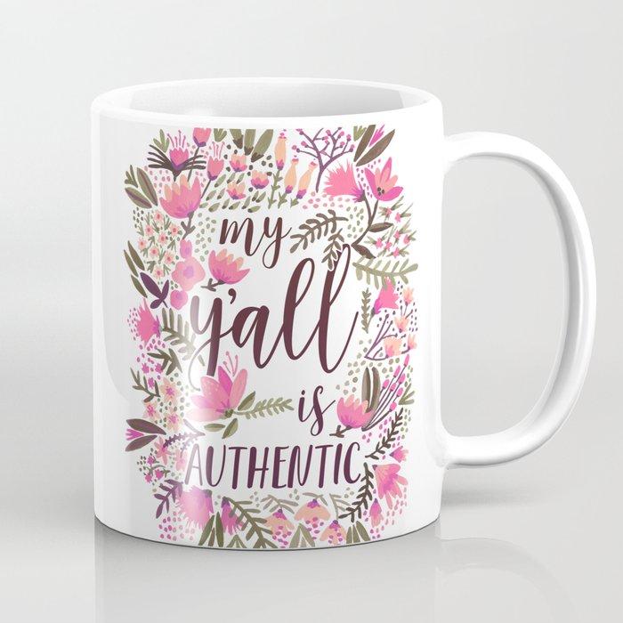 My Y'all is Authentic – Vintage Palette Coffee Mug