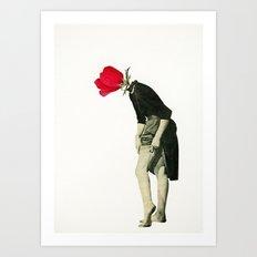 Hello Flower Art Print
