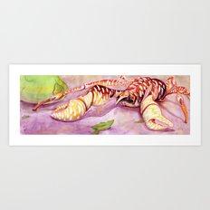 Coconut Crab Art Print