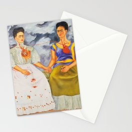 Two fridas art Stationery Cards