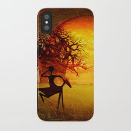 Visions of fire iPhone Case